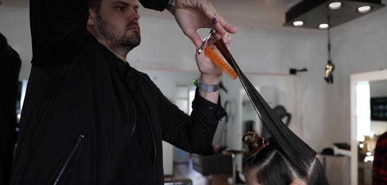 cutting your hair