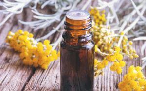 Helichrysum Oil in bottle